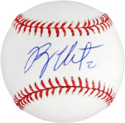 Ryan Theriot Autographed Baseball