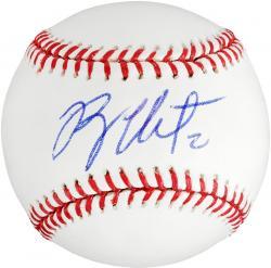 Ryan Theriot Autographed Baseball