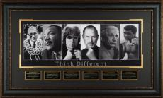 THINK DIFFERENT #2 Einstein Steve Jobs Ali Laser Signed Post