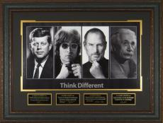 THINK DIFFERENT John F Kennedy Steve Jobs Laser Signed Displ