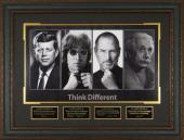 THINK DIFFERENT John F Kennedy Steve Jobs Laser Signed Displ