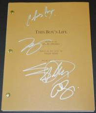 This Boy's Life Autographed Script by Leonardo Dicaprio, Eliza Dushku, Chris Cooper, and Carla Gugino
