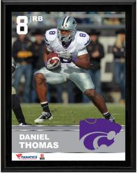 Daniel Thomas Kansas State Wildcats Sublimated 10.5'' x 13'' Plaque - Mounted Memories