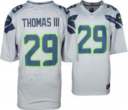 Nike Earl Thomas Seattle Seahawks Super Bowl XLVIII Champions Limited Jersey - Gray - Mounted Memories