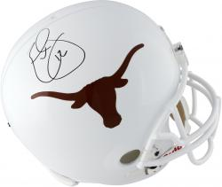 Earl Thomas Texas Longhorns Autographed Riddell Replica Helmet - Mounted Memories