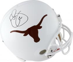 Earl Thomas Texas Longhorns Autographed Riddell Replica Helmet