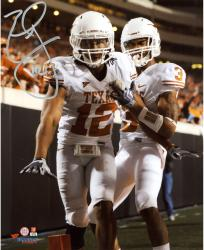 "Earl Thomas Texas Longhorns Autographed 8"" x 10"" Looking at Cam Photograph"