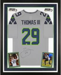 Earl Thomas Autographed Seahawks Limited Jersey - Deluxe Framed