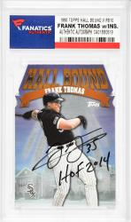 Frank Thomas Chicago White Sox Autographed 1998 Topps Hall Bound #RB10 Card with HOF 2014 Inscription - Mounted Memories  - Mounted Memories