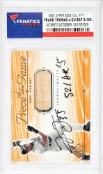 Frank Thomas Chicago White Sox Autographed 2000 Upper Deck #FT Card with 521 HRS Inscription - Mounted Memories  - Mounted Memories