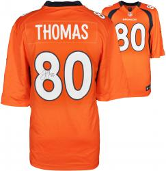 Julius Thomas Denver Broncos Autographed Nike Replica Orange Jersey - Mounted Memories