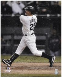 Jim Thome Chicago White Sox Autographed 16'' x 20'' Back Shot Photograph - Mounted Memories