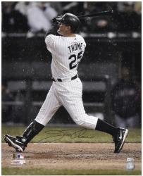 "Jim Thome Chicago White Sox Autographed 16"" x 20"" Back Shot Photograph"