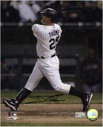 Jim Thome Chicago White Sox Autographed 8'' x 10'' Vertical Photograph - Mounted Memories