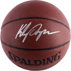 Klay Thompson Golden State Warriors Autographed Spalding Elevation Basketball - Mounted Memories