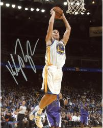 "Klay Thompson Golden State Warriors Autographed 8"" x 10"" Dunk Photograph"