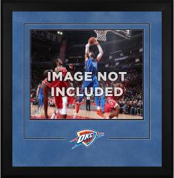"Oklahoma City Thunder Deluxe 16"" x 20"" Frame -"
