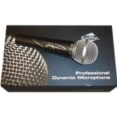 T.I. Cliff Harris TIP Autographed Griffin I-58 Professional Dynamic Microphone - JSA
