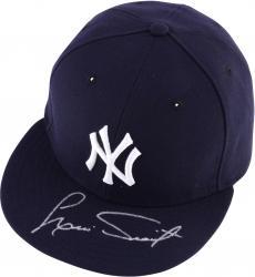Luis Tiant New York Yankees Autographed New Era Navy Cap