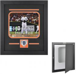 "Detroit Tigers 8"" x 10"" Horizontal Setup Frame with Team Logo - Mounted Memories"