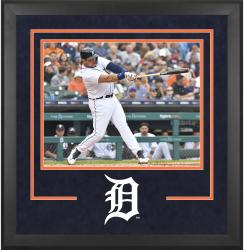 "Detroit Tigers Deluxe 16"" x 20"" Horizontal Photograph Frame - Mounted Memories"