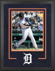 "Detroit Tigers Deluxe 16"" x 20"" Vertical Photograph Frame - Mounted Memories"
