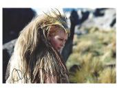 """TILDA SWINTON as WHITE WITCH in """"THE CHRONICLES of NARINA"""" Signed 10x8 Color Photo"""