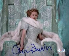 Tilda Swinton Chronicles Of Narnia Signed 8X10 Photo PSA/DNA #W25945