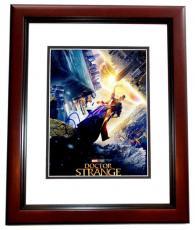 Tilda Swinton Signed - Autographed Doctor Strange 8x10 Photo MAHOGANY CUSTOM FRAME