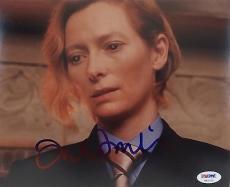 Tilda Swinton Signed Constantine 8x10 Photo Authentic Autograph PSA/DNA #AA32105