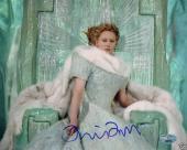 Tilda Swinton Signed White Witch Narnia 8x10 Photo PSA