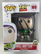 Tim Allen Buzz Lightyear Toy Story Signed Funko Pop Figure PSA/DNA COA (B)