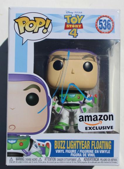 Tim Allen Buzz Lightyear Toy Story Signed Funko Pop w/COA Proof #536