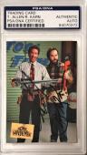 Tim Allen & Richard Karn Home Improvement Dual Signed Auto Card PSA/DNA Slabbed
