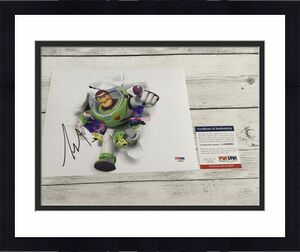 Tim Allen Signed 8x10 Photo PSA DNA COA Buzz Lightyear Toy Story Autographed a