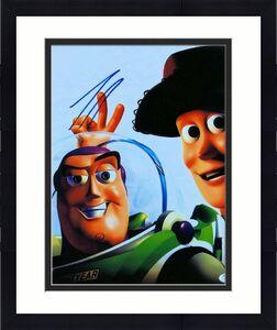Tim Allen Signed Autographed 11X14 Photo Toy Story Buzz Lightyear JSA S71589