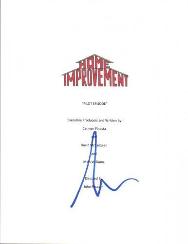 Tim Allen Signed Autographed HOME IMPROVEMENT Pilot Episode Script COA
