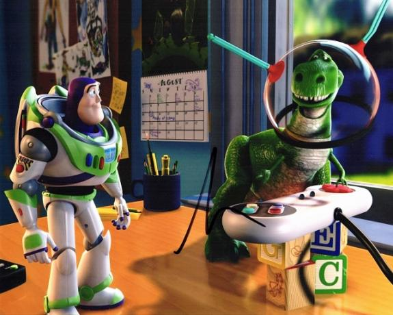 Tim Allen Signed - Autographed TOY STORY - Buzz Lightyear 8x10 inch Photo - Guaranteed to pass BAS