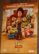 Tim Allen Signed Toy Story 3 Poster PSA/DNA COA w/ Buzz