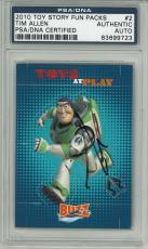 Tim Allen Signed Toy Story Authentic Card Slabbed PSA/DNA #83699723