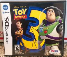 Tim Allen Toy Story 3 NINTENDO DS Buzz Lightyear Signed Video Game PSA/DNA COA