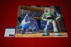 TIM ALLEN toy story home improvement signed PSA/DNA 11X14 buzzlight year