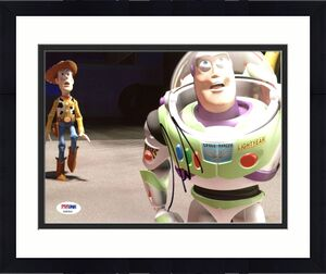 Tim Allen Toy Story Signed 8X10 Photo Autographed PSA/DNA #AB83043