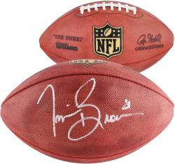 Tim Brown Oakland Raiders Autographed Pro Football