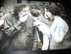 TIM BURTON SIGNED AUTOGRAPH 8x10 PHOTO SWEENEY TODD JOHNNY DEPP IN PERSON PROMO