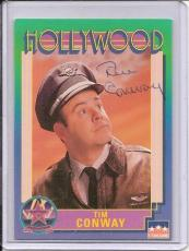 Tim Conway Signed Starline Hollywood card