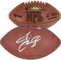Tim Couch Autographed Football - Mounted Memories
