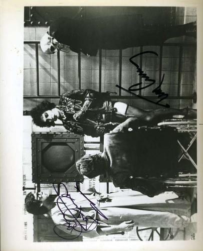 TIM CURRY BARRY BOSTWICK PSA DNA Autograph 8x10 Photo Rocky Horror Signed