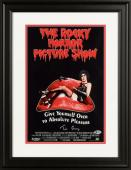 """Tim Curry Framed Autographed 11"""" x 17"""" The Rocky Horror Picture Show Movie Poster - Beckett COA"""