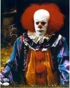 "Tim Curry It Autographed 11"" x 14"" Pennywise Photograph - JSA"